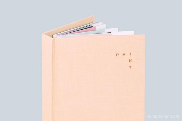 PINTBOX 美甲机构视觉形象设计 画册设计 标志设计 名片设计 VI设计