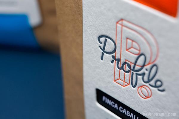 墨尔本 Profile 咖啡VI设计 画册设计 澳大利亚 海报设计 标志设计 名片设计 包装设计 VI设计