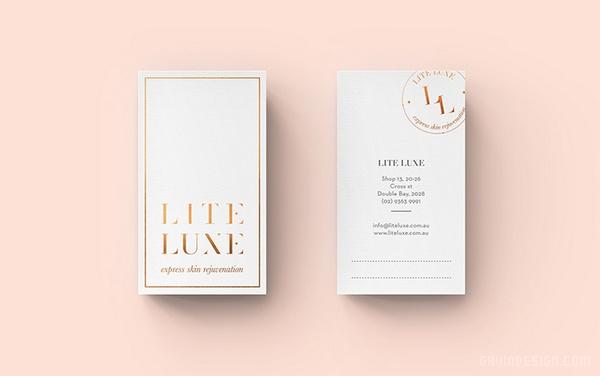 LITE 护肤品企业VI设计 标志设计 VI设计 APP设计