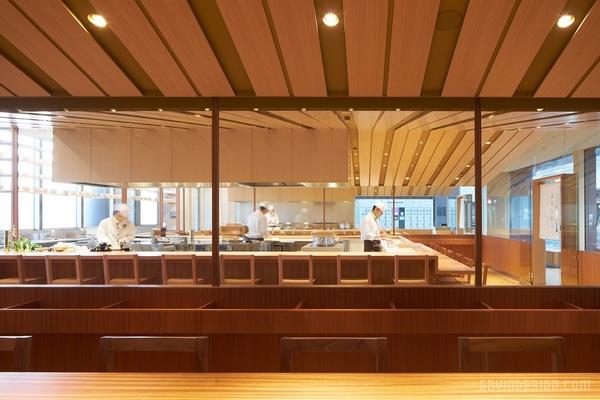 日本东京 Hitoshinaya 料理店设计 餐厅设计 日本 料理店设计 店面设计 商业空间设计 东京