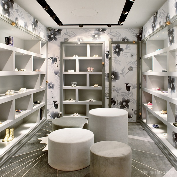奥地利维也纳 Bambini 童装店设计 店面设计 商业空间设计 专卖店设计