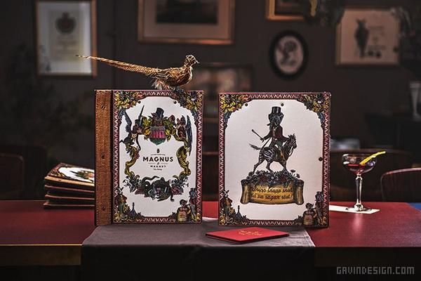 瑞典哥德堡 Magnus 餐厅VI设计 酒吧设计 画册设计 标志设计 名片设计 VI设计 SI设计