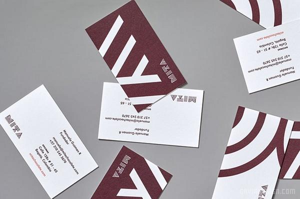 哥伦比 Mita 巧克力VI设计 标志设计 名片设计 包装设计 VI设计
