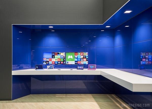 美国旧金山微软办公室设计 美国 办公空间设计 办公室设计
