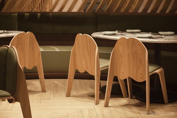香港尖沙咀百乐小馆餐厅设计 香港 餐厅设计 店面设计 商业空间设计 中国