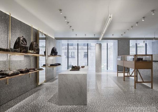 纽约 Valentino(华伦天奴)旗舰店设计 美国 旗舰店设计 店面设计 商业空间设计 专卖店设计