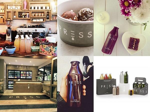 伦敦 PRESS 鲜榨果汁品牌形象SI设计 英国 海报设计 标志设计 品牌形象设计 名片设计 包装设计 VI设计 SI设计