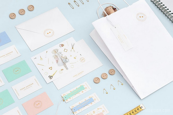 丹麦 LANA 玩具公司VI设计 画册设计 名片设计 包装设计 VI设计