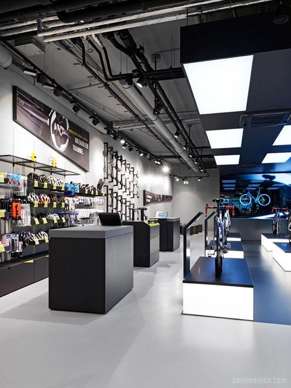 德国慕尼黑 ROSE BIKETOWN 店面设计 自行车店设计 德国 店面设计 商业空间设计 专卖店设计
