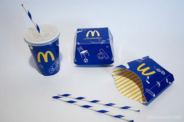 麦当劳全新包装视觉形象设计 麦当劳 包装设计