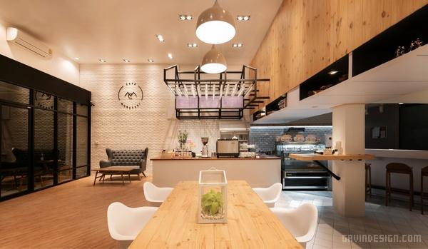 泰国曼谷 Café Murasaki 咖啡馆设计 餐厅设计 泰国 店面设计 商业空间设计 咖啡馆设计
