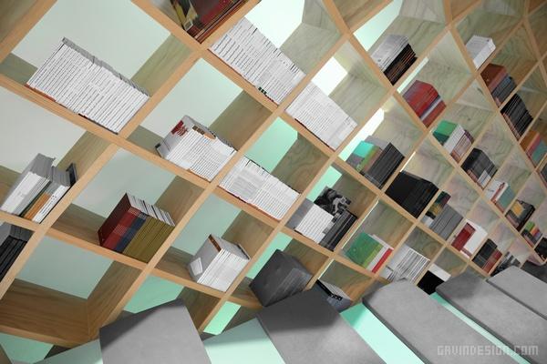 墨西哥 Conarte 书店设计 店面设计 墨西哥 商业空间设计 书店设计