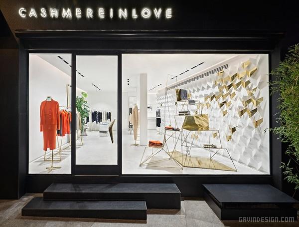 土耳其 Cashmere in Love 旗舰店设计 旗舰店设计 店面设计 商业空间设计 专卖店设计