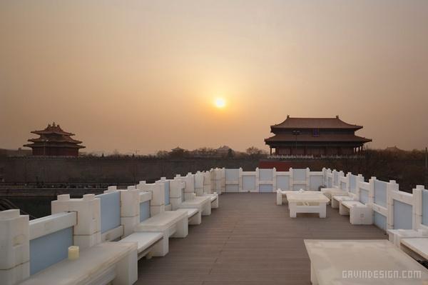 北京故宫东门禅意茶馆设计 餐厅设计 茶馆设计 商业空间设计 北京 会所设计 中国