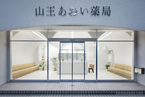 日本东京大森药店设计 药店设计 日本 店面设计 商业空间设计 专卖店设计