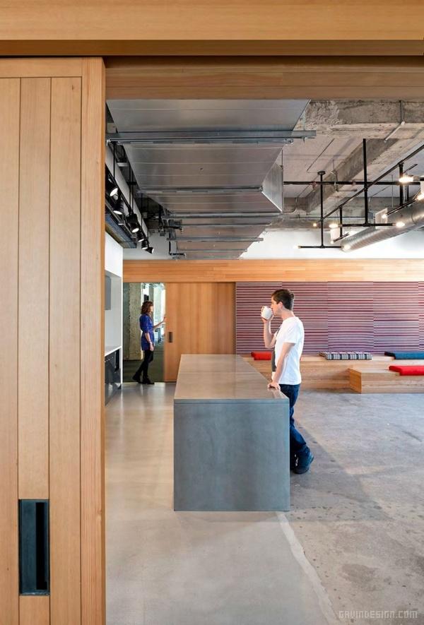旧金山 Yelp 总部办公室设计 美国 办公空间设计 办公室设计