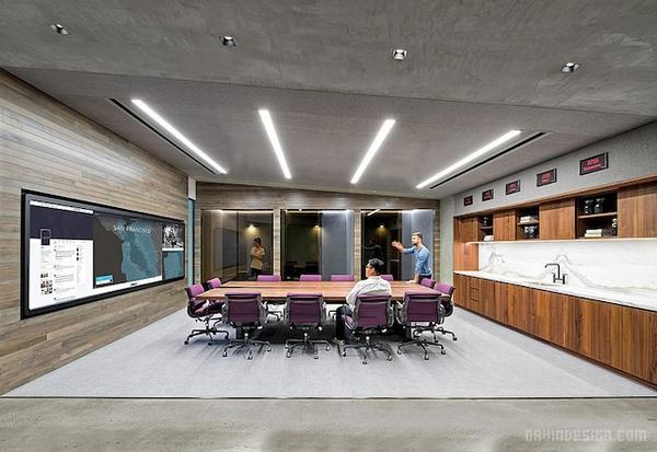 美国旧金山 Uber 办公室设计 美国 办公空间设计 办公室设计