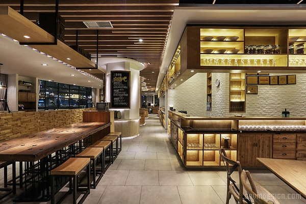 海口上邦拾味馆连锁餐厅设计 餐厅设计 店面设计 商业空间设计