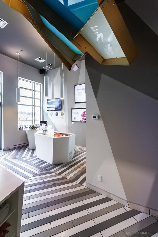加拿大魁北克 Némeau 海产品专卖店设计 店面设计 商业空间设计 加拿大 专卖店设计