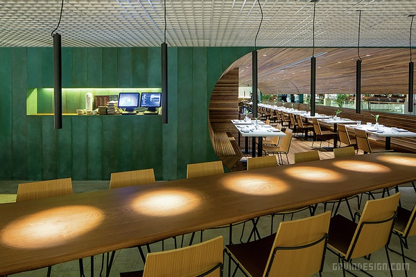 巴西里约热内卢 Gurumê 餐厅设计 餐厅设计 店面设计 巴西 商业空间设计