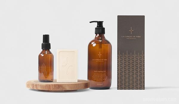 La Clinique 护肤品企业VI设计 画册设计 标志设计 名片设计 包装设计 VI设计