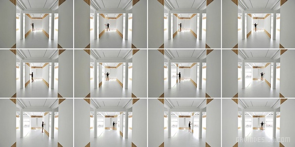 北京荣宝斋西画廊设计 画廊设计 展览设计 展厅设计 北京 中国