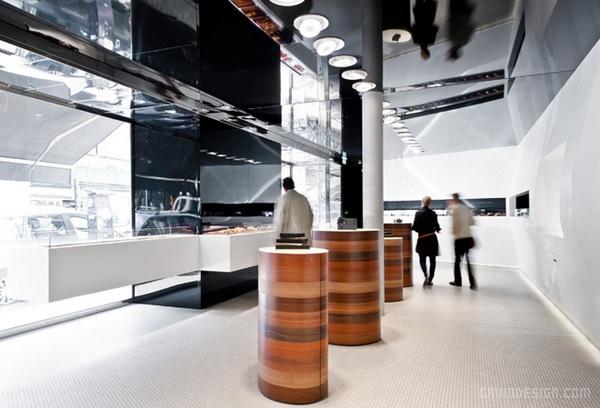 法国波尔多 Antoine 蛋糕店设计 蛋糕店设计 甜品店设计 法国 店面设计 商业空间设计