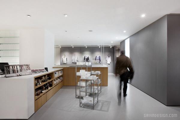 意大利米兰无印良品店设计 意大利 店面设计 商业空间设计 专卖店设计