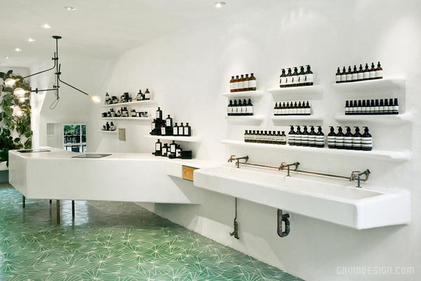 英国伦敦 Aesop 专卖店设计 英国 店面设计 商业空间设计 化妆品店设计 专卖店设计