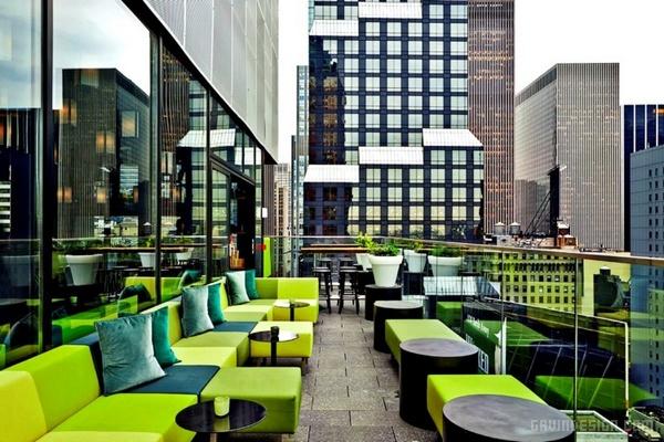 纽约时代广场 citizenM 酒店设计 酒店设计 美国