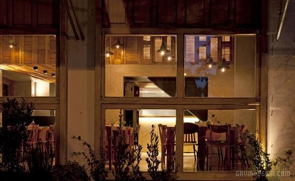 希腊雅典 Capanna 披萨店设计 餐厅设计 披萨店设计 店面设计 希腊 商业空间设计