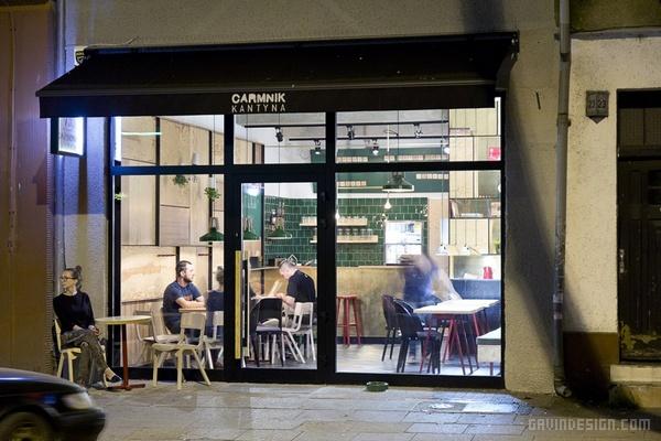 波兰丁尼亚 Carmnik Kantyna 餐厅设计 餐厅设计 店面设计 商业空间设计