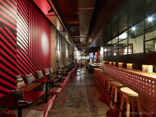 悉尼的 Mejico 墨西哥餐厅设计 餐厅设计 澳大利亚 店面设计 商业空间设计