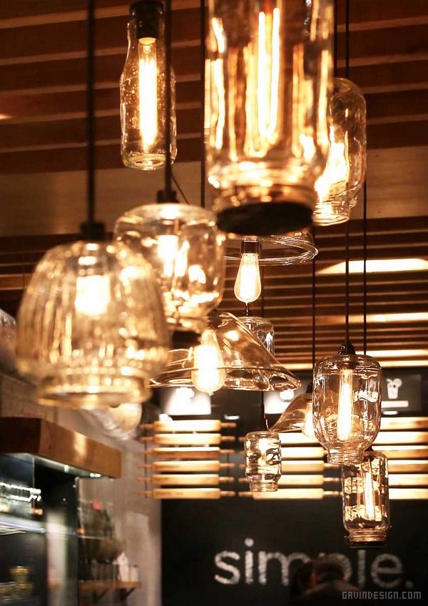 乌克兰基辅 Simple 快餐店设计 餐厅设计 快餐店设计 店面设计 商业空间设计
