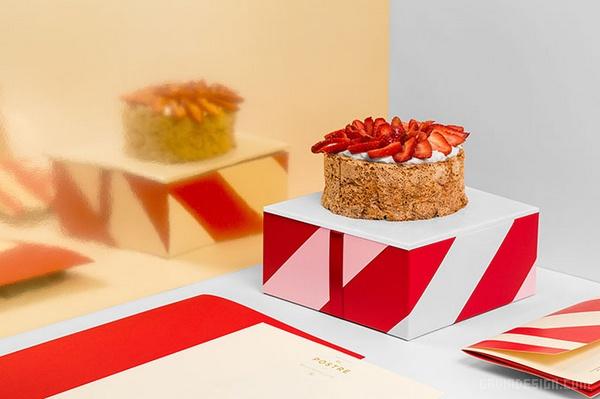 墨西哥 El Postre 面包店VI设计 面包店设计 标志设计 墨西哥 包装设计 VI设计 SI设计