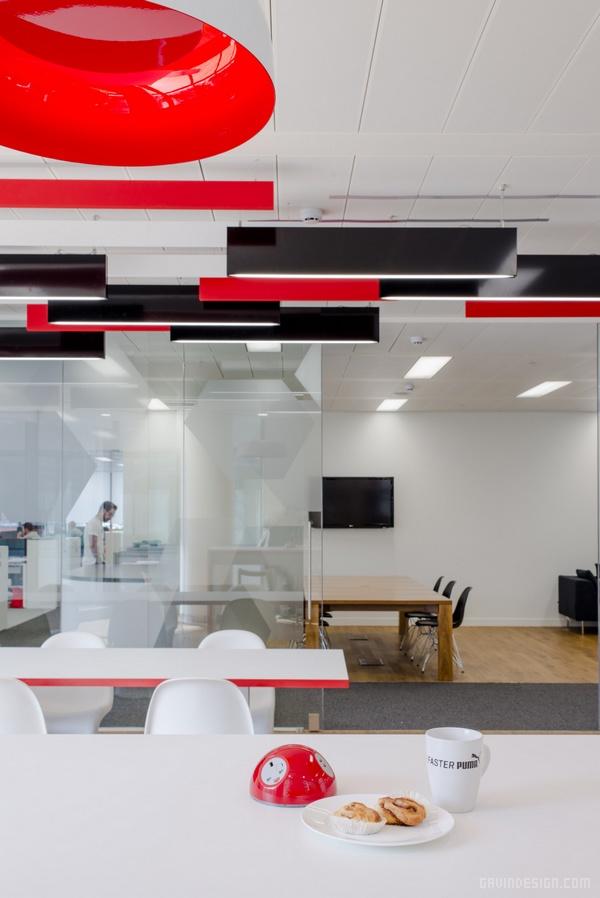 英国伦敦彪马办公室设计 英国 办公空间设计 办公室设计