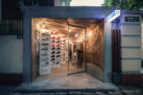 上海 ALL SH 潮流店设计 潮店设计 店面设计 商业空间设计 中国 专卖店设计 上海