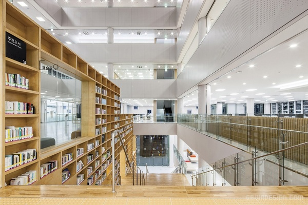 韩国湖西大学(Hoseo University)图书馆设计 韩国 图书馆设计