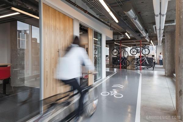 SRAM 芝加哥总部办公室设计 美国 办公空间设计 办公室设计