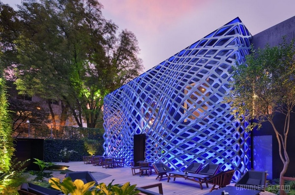 墨西哥城 Tori Tori 餐厅设计 餐厅设计 墨西哥 商业空间设计