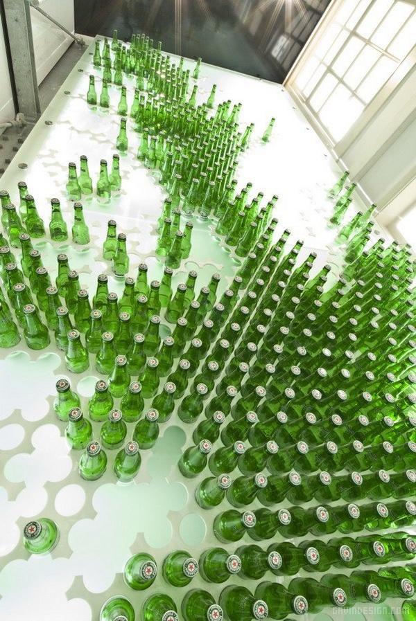 荷兰阿姆斯特丹 Heineken The City 概念店设计 荷兰 概念店设计 店面设计 商业空间设计 专卖店设计