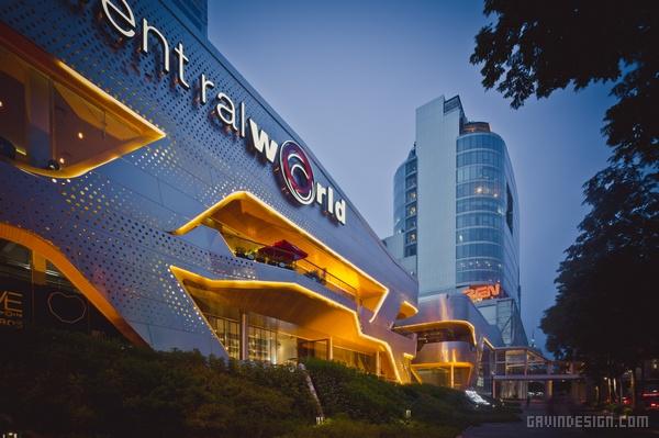 泰国曼谷 The Groove 购物中心设计 购物中心设计 泰国 商场设计