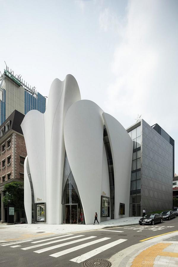 首尔江南区迪奥精品店设计 韩国 精品店设计 旗舰店设计 店面设计 商业空间设计 专卖店设计