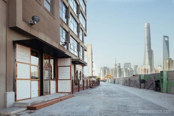 上海黄浦江畔 Lone Ranger 热狗店设计 餐厅设计 热狗店设计 快餐店设计 店面设计 商业空间设计 中国 上海