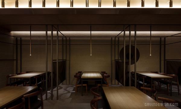 韩国首尔 KU kappo 日式餐厅设计 餐厅设计 韩国 店面设计 寿司店设计 商业空间设计