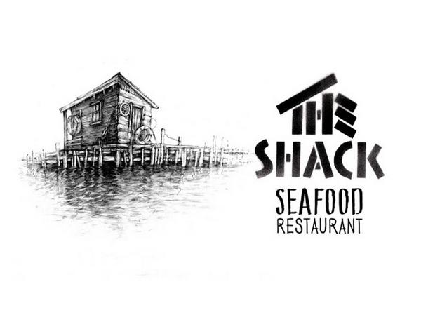 阿联酋海鲜餐厅(The Shack)品牌形象SI设计 餐厅设计 菜单设计 标志设计 品牌形象设计 包装设计 VI设计 SI设计