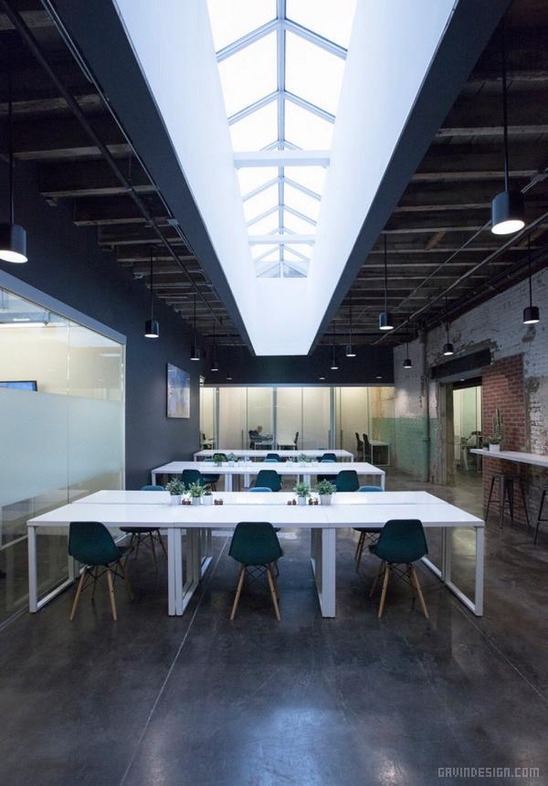 纽约布鲁克林 COWORKRS 办公室设计 美国 办公空间设计 办公室设计