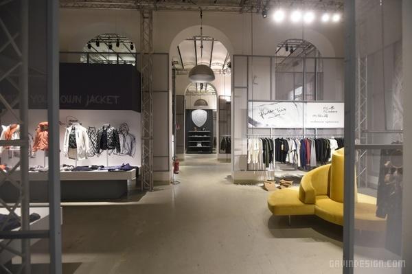 意大利佛罗伦萨  Blauer 展厅设计 意大利 展览设计 展厅设计