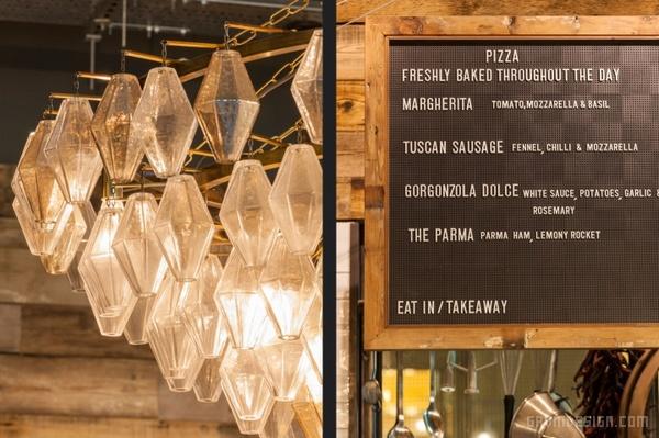 伦敦 Jamie's Italian 餐厅设计 餐厅设计 英国 店面设计 商业空间设计