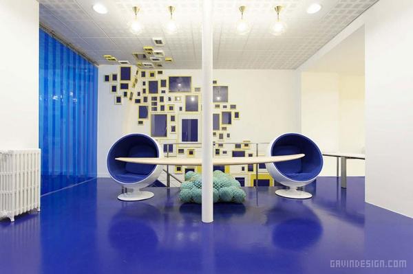 巴黎 ADYAX 总部办公室设计 法国 办公空间设计 办公室设计